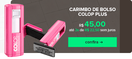Carimbo de Bolso Colop Plus