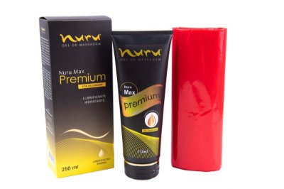 Gel para massagem sensual Nuru Premium Max 250ml