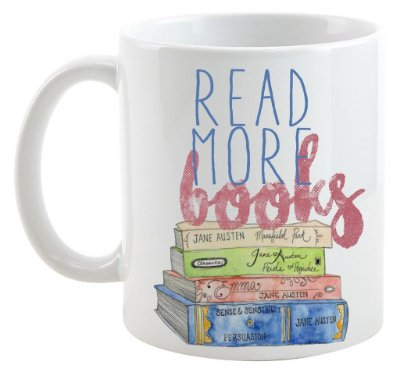 Caneca Bookstagram - Read more Books