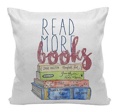 Almofada Bookstagram  - Read More Books
