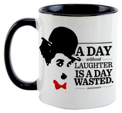 Caneca - Charlie Chaplin
