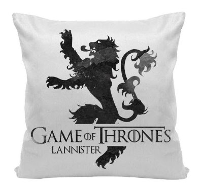Almofada - Game of Thrones - Casa Lannister