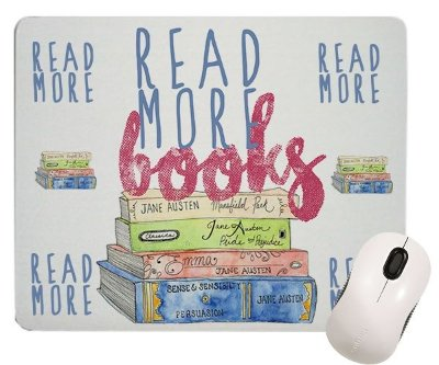 Mouse Pad Bookstagram  - Read More Books