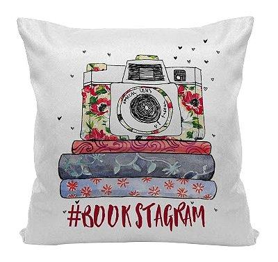 Almofada - Bookstagram Vermelha