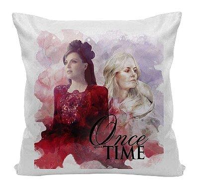 Almofada - Série Once Upon a Time - Regina e Emma