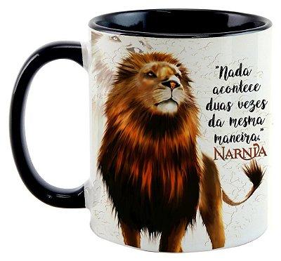 Caneca - Aslan - As crônicas de Nárnia