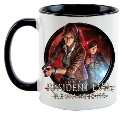 Caneca - Game Residente Evil - Revelations 2