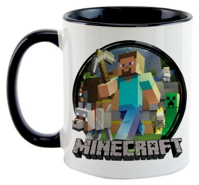 Caneca - Game Minecraft