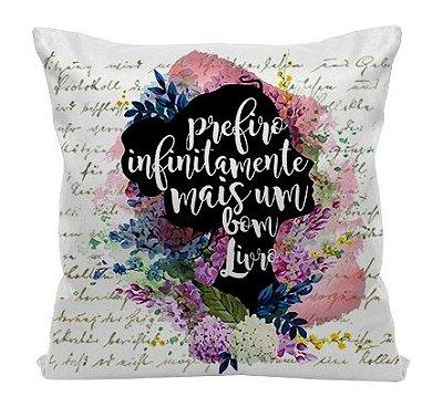Almofada - Frase Elizabeth - Orgulho Preconceito - Jane Austen