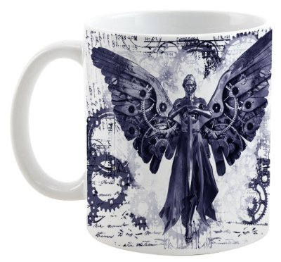 Caneca - Anjo Mecânico - The infernal Devices
