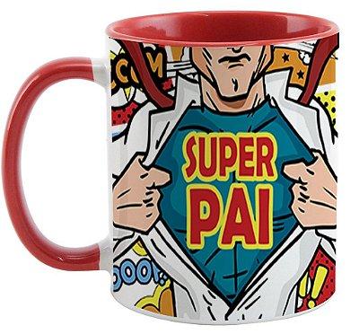 Caneca - Super Pai - Comic