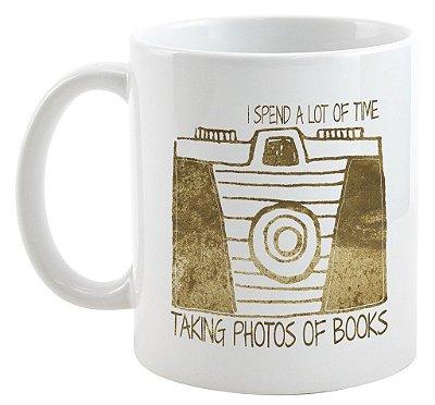 Caneca - Bookstagram - Fotos de Livros