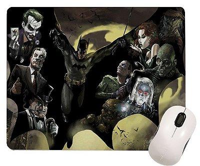 Mouse Pad - Batman e Vilões