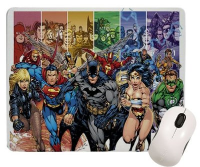 Mouse Pad - A liga da Justiça