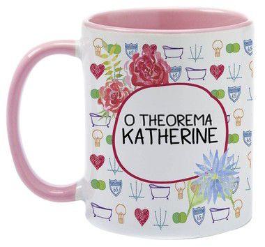 Caneca - Livro - O Theorema Katherine