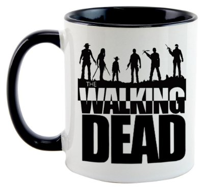 Caneca - The Walking Dead - Personagens