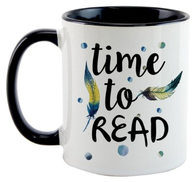 Caneca - Bookstagram - Time to Read