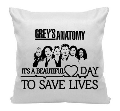 Almofada - Série Grey's Anatomy - Beautiful Day