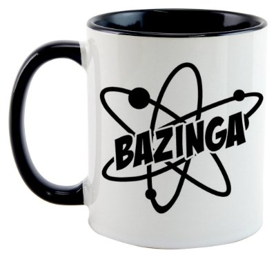 Caneca - Série The Big Bang Theory - Bazinga