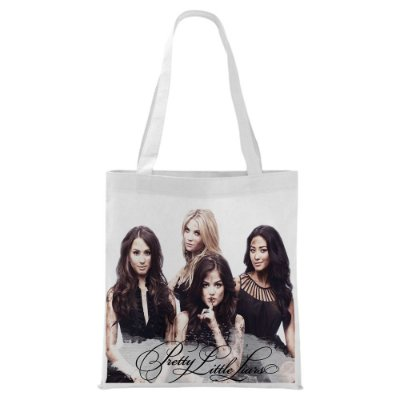 Ecobag - Pretty Little Liars - Black