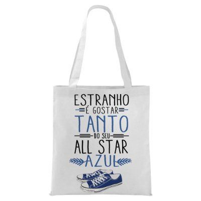 Ecobag - Música All Star Azul