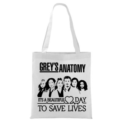 Ecobag - Grey's Anatomy - Save Lives