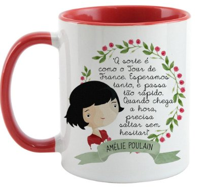 Caneca - O fabuloso mundo de Amelie Poulain - Quote