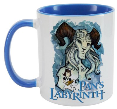 Caneca - Pans Labyrinth - Blue