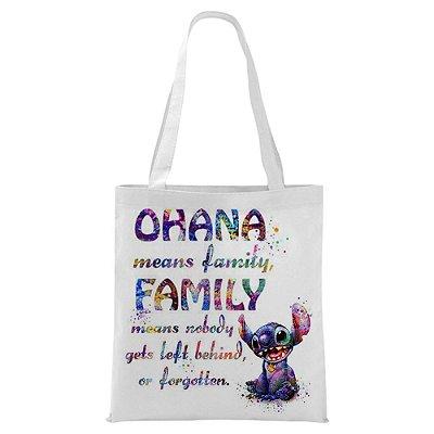 Ecobag - Ohana - Aquarela