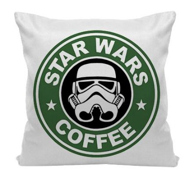 Almofada - Star Wars - Coffee