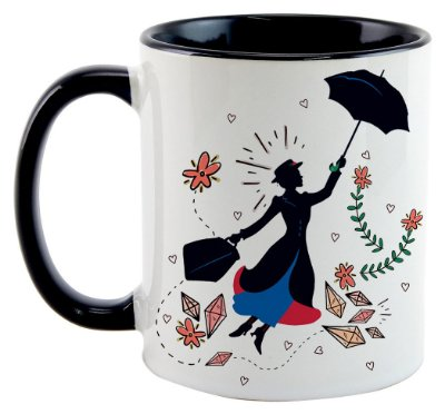 Caneca - Mary Poppins - Black