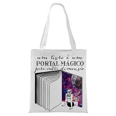 Ecobag - Livros, um portal Mágico