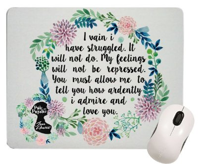Mouse Pad - Jane Austen - Metade de Mim