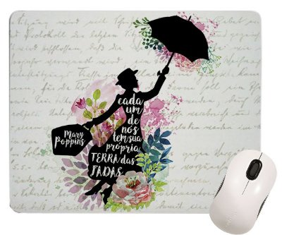 Mouse Pad - Mary Poppins - Frase