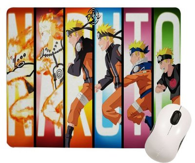 Mouse Pad - Naruto - Fases