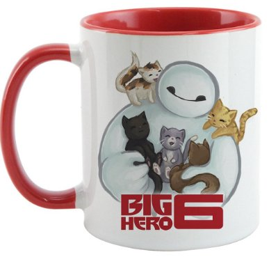 Caneca - Big Hero - Cats
