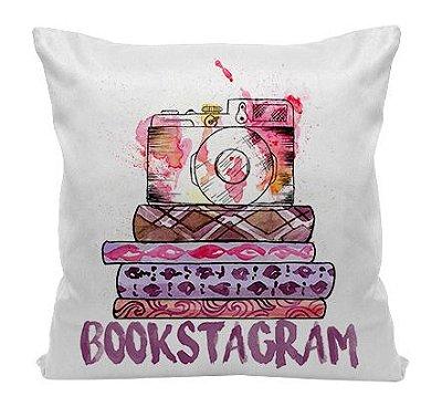 Almofada - Bookstagram - Aquarela