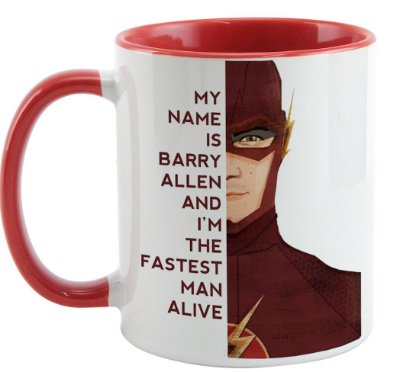 Caneca - Flash Barry