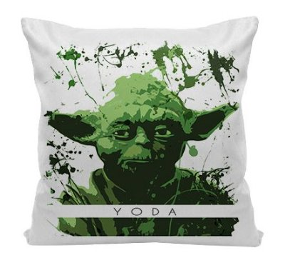Almofada - Star wars - Yoda - Aquarela