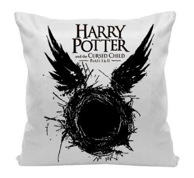 Almofada - Harry potter and the cursed Child
