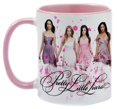 Caneca - Série Pretty Little Liars - Pink