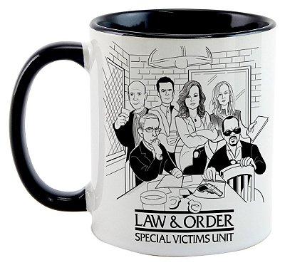Caneca - Law & Order