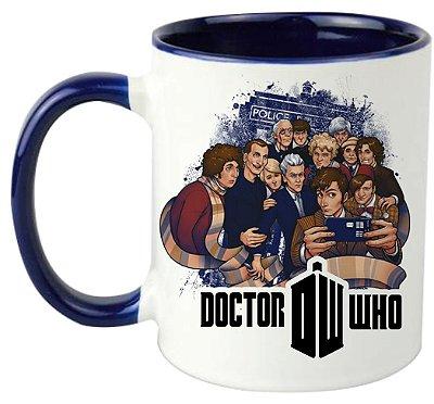 Caneca - Doctor Who - Reunião