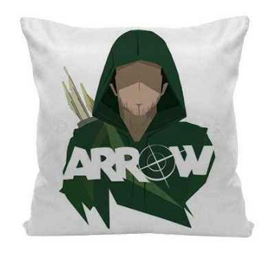 Almofada - Série Arrow - Arqueiro Verde