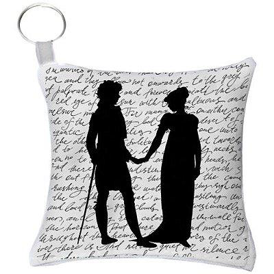 Chaveiro - Jane Austen Silhuetas