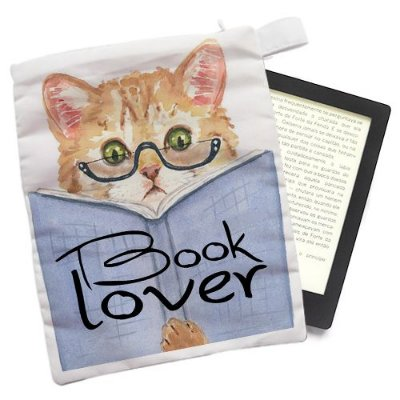 Capinha - Book Lover
