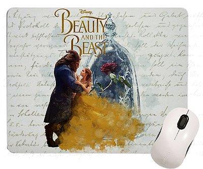 Mouse Pad - A Bela e a Fera - Filme - Rosa