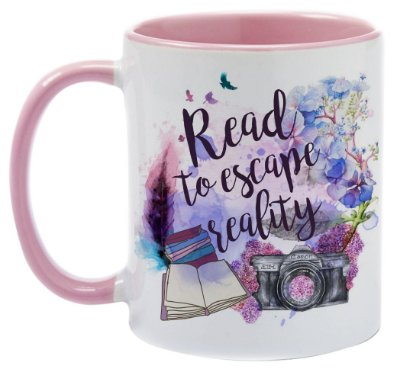 Caneca - Bookstagram - Read to Escape