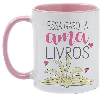 Caneca - Bookstagram - Essa Garota ama Livros