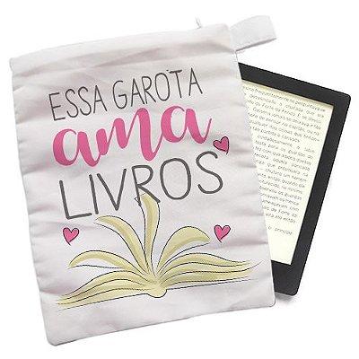 Capinha - Essa garota ama Livros